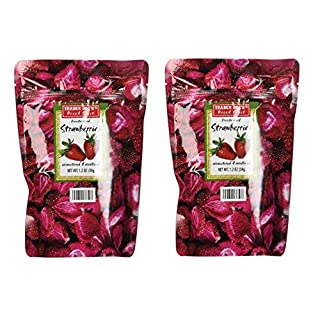 Trader Joe's Freeze Dried Strawberries (2 Pack)-SET OF 2