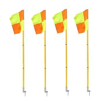 Firelong Professional Soccer Football Corner Flags Portable