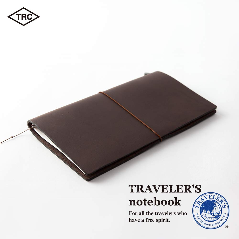 Travelers Notebook Brown Leather (1, 1 LB) by Xekia (Image #3)