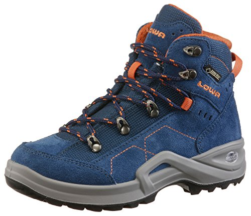Orange Kody Lowa Hiking Mid Boots Blue III Junior Kids' Unisex GTX q44SwvU