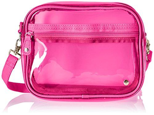 Stephanie Johnson Women's Miami Camera Crossbody Bag, Neon - Code Pink Neon