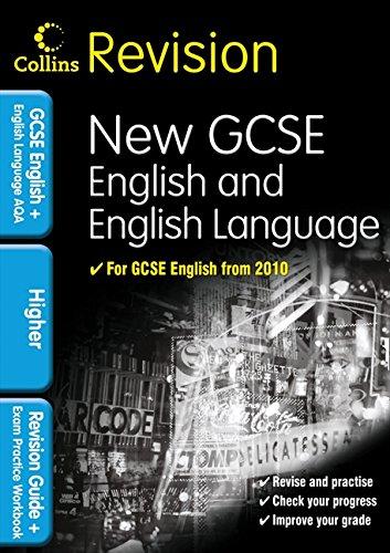 Collins Revision - Gcse English & English Language For Aqa: Higher