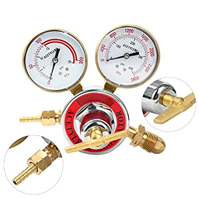 Yaetek Welding gas welder Acetylene Regulator / Oxygen Regulator
