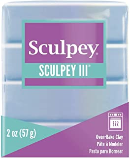 product image for Sculpey III Polymer Clay 2 Ounces-Light Blue Pearl