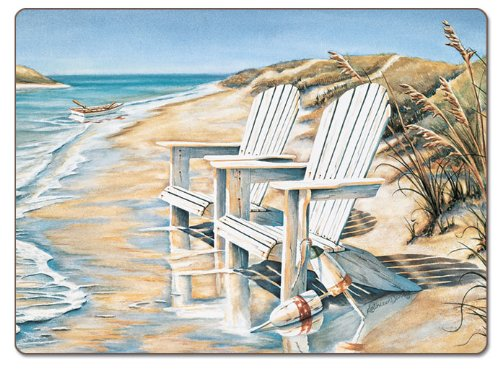 CounterArt-Beach-Days-Hardboard-Placemat-Set-of-2