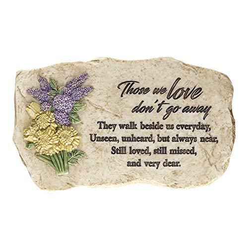 Dicksons Those We Love Garden Stone 8 Inch Resin Garden Stone