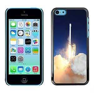 Print Motif Coque de protection Case Cover // M00290959 Despegue de lanzamiento de cohetes de // Apple iPhone 5C