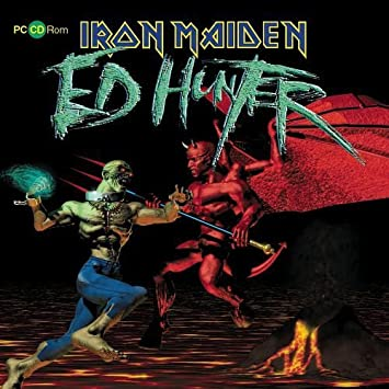 iron maiden ed hunter cd