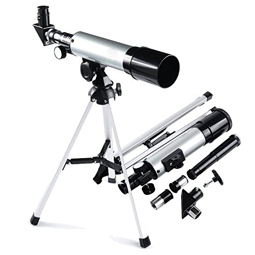 360x50mm Professional Refractor Telescope Monocular Space Astronomical Scope The Magic Toy Shop