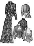 old dresses for women - 1883 Tailed Victorian Bodice Pattern