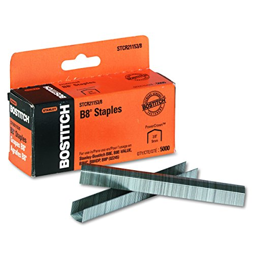 Bostitch PowerCrown Staples Capacity STCR21153