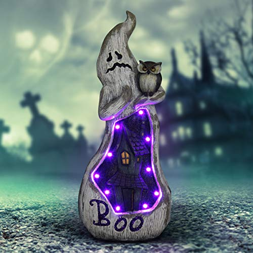 Stone Marquee Halloween (Exhart 20