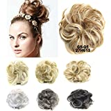 Fashion Donut Clip-on Dish Hair Bun Tray Ponytail Extension Hairpiece Wig #27H613