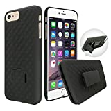Best CellBee Cell Phone Accessories - Customefirst iPhone 7 Plus Black Hard Shell Case Review