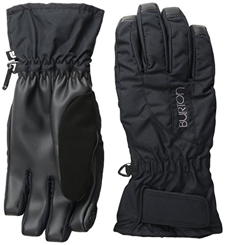 Over Snowboard Glove (BURTON Women's Profile Under Gloves, True Black,)