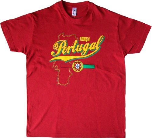 Chacun Tee Collection Son Adulte Shirt Forca A Portugal Pays T Supporter Football shirt pvqvfdy