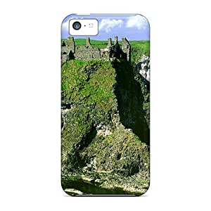 Durable Irish Lscape Back Case/cover For Iphone 5c