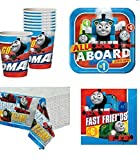 thomas train pack - Thomas The Train All Aboard Party Pack for 16 Guests