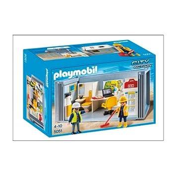 PLAYMOBIL 5051 City Action - Casa contenedor de construcción: Amazon.es: Juguetes y juegos