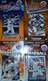 New York Mets Factory Sealed 4 Team Set Gift Lot Including 2018, 2017, 2016 and 2015 Teams. Each Factory Set Contains 17 Exclusive Mets Cards That Are Not Found in Packs