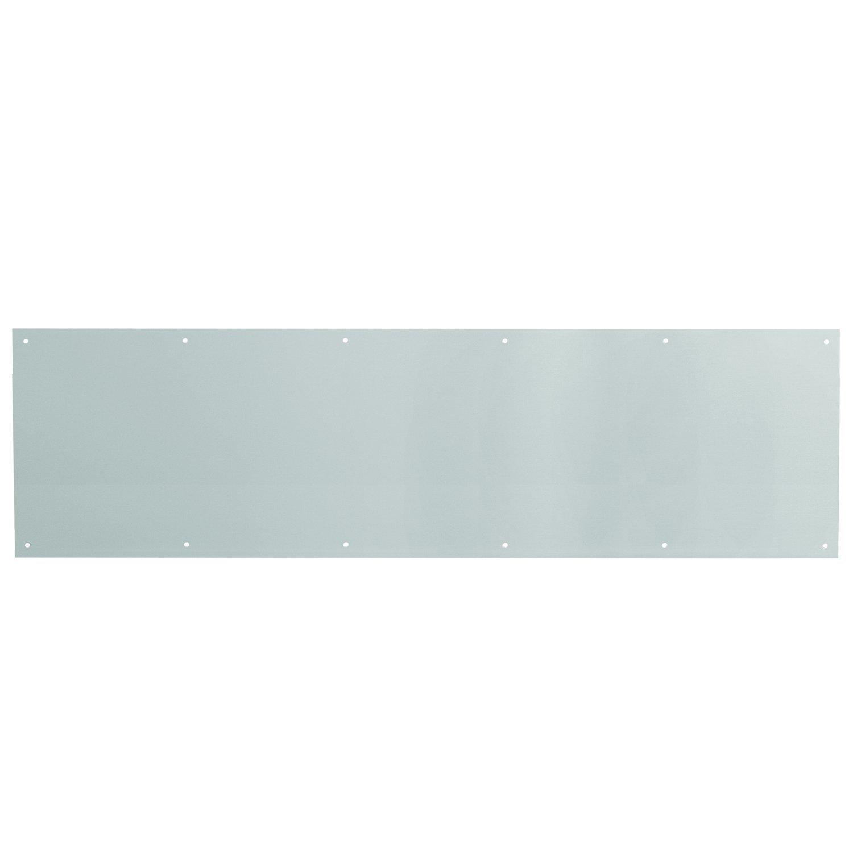 Prime-Line MP4620 Door Kick Plate, 10 34-Inch, Satin Aluminum, Pack of 1