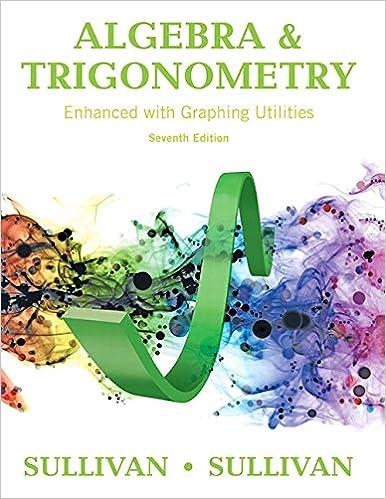 Algebra And Trigonometry Sullivan Pdf