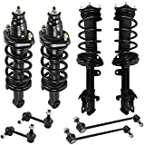 Detroit Axle - Front and Rear Struts & Coil Springs