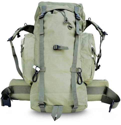 - Explorer Giant Tactical Backpack, 24 x 18 x 8-Inch, Olive Green