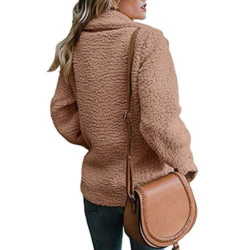 lannister laine rabattu Qk poitrine col kaki loisirs épaisse Manteau survêtement à d'hiver chaude femme Parka dwvUAXZWqv