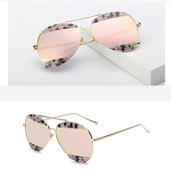 ZHANG Colorful moda occhiali da sole occhiali da sole in metallo occhiali unisex sopracciglia, 8