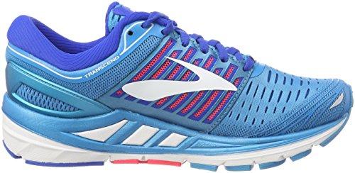 BLU Brooks Shoe 5 Transcend PNK 474 Running WHT Women's xwqwgR17WY