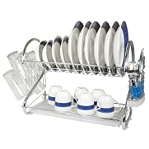 """Better Chef 22"""" Chrome Plated Dish Rack"""