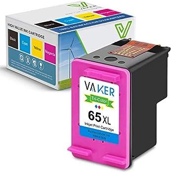 Amazon.com: Ksera - Tinta remanufacturada para HP 65 XL HP65 ...
