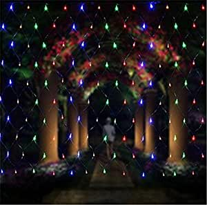 2600 LED 810 meters Xmas Gift Fairy Net String Light Waterproof Outdoor/Halloween Party Ceremony Anniversary Wedding Decoration.(8 Modes,colorful)