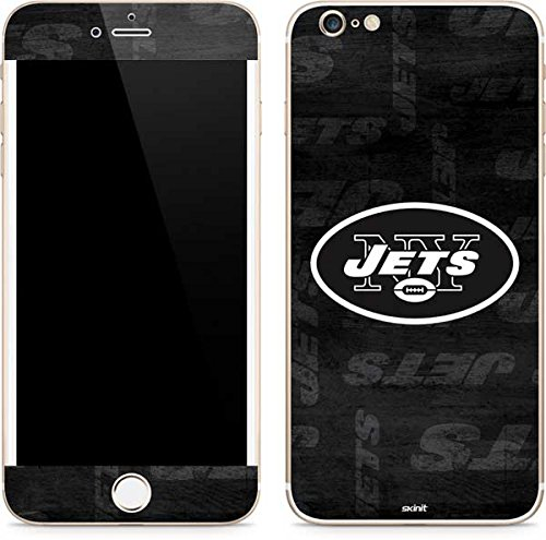 - Skinit New York Jets Black & White iPhone 6/6s Plus Skin - Officially Licensed NFL Phone Decal - Ultra Thin, Lightweight Vinyl Decal Protection