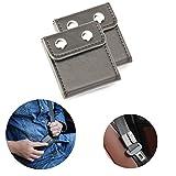 Seatbelt Adjuster,Comfort Auto Shoulder Neck Strap Positioner Locking Clip Protector,Universal Vehicle Car Seat Belt Safety Covers (2 Pack, Gray)