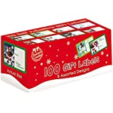 Tallon Christmas Collection Adhesive Gift Label (Pack of 100)