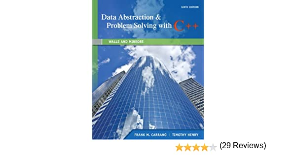 Amazon data abstraction problem solving with c walls and amazon data abstraction problem solving with c walls and mirrors 6th edition 9780132923729 frank m carrano timothy m henry books fandeluxe Image collections