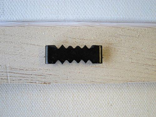 1000 Sawtooth Picture Hangers No Nail - 1 Inch - Black by Picture Hang Solutions (Image #4)