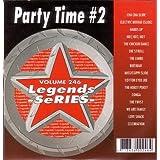Legends #246 PARTY TIME #2 Karaoke CDG Disk 16 Wedding Fun Songs