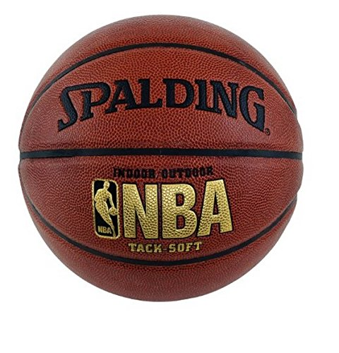 "029321625952 - Spalding NBA Tack Soft Basketball - Official Size 7 (29.5"") carousel main 0"