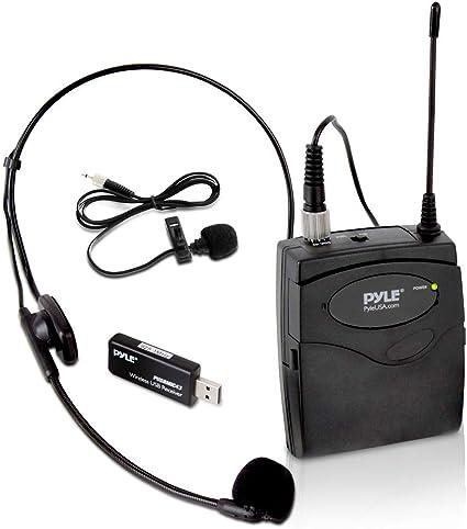 Pyle Pro PUSBMIC43 - Kit de micrófono de petaca con receptor USB ...