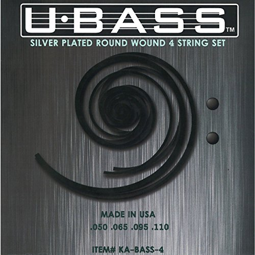 Kala KA-BASS-4 Metal Round Wound U-Bass Strings