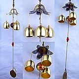 Laz-Tipa - Carillon De Jardin Wind Bell Outdoor Living Wind Chimes Yard Garden Tubes Bells Copper 3 Bells