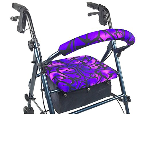 Crutcheze Rollator Walker Seat and Backrest Cover
