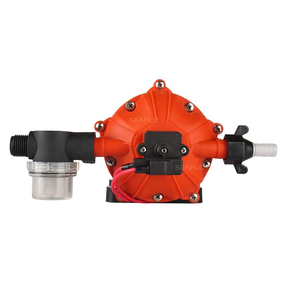 SeaFlo High Pressure Marine Water Pump 12 V DC 60 PSI 5.0 GPM on demand by Sea Fresh Marine (Image #3)