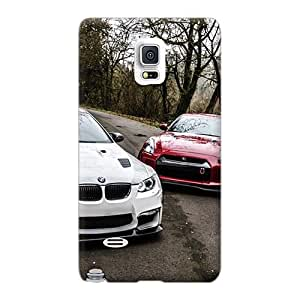Samsung Galaxy Note 4 LoG763uhoB Custom High-definition Bmw E92 M3 Nissan Gtr R35 Series Shock Absorption Hard Phone Cases -top10cases