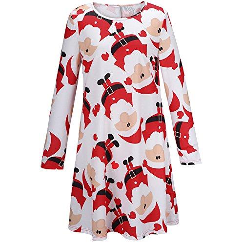 VLUNT - Vestido - para mujer Rosso