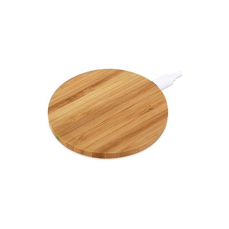 szwisechip Bamboo Wireless Charger for i