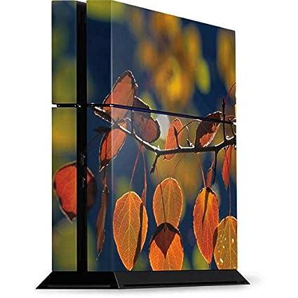 3ed34e9103ccf Amazon.com: Nature PS4 Console Skin - Autumn Aspen Leaves in ...
